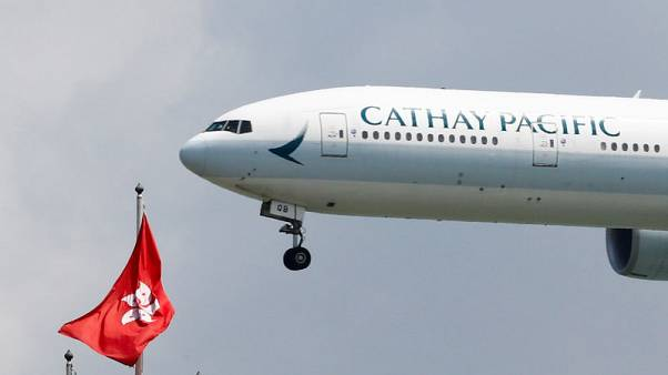 Hong Kong's Cathay shares jump 7.4% at open after slump this week