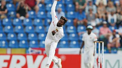 Lanka's Dananjaya takes five to put NZ on back foot in Galle