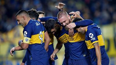De Rossi gol alla prima, ma il Boca esce