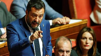Explainer: Italy's Salvini snarled in political crisis of his own making