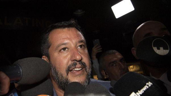 Salvini, con voto nessun aumento Iva