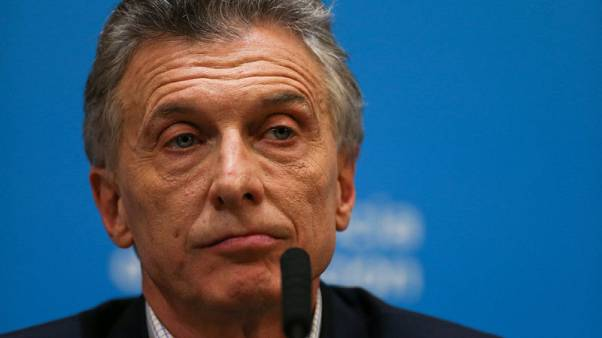 As election looms, Argentina's Macri announces relief measures after years of spending cuts