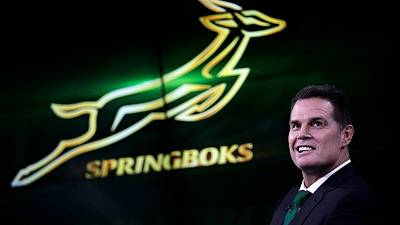 Rugby - South Africa team to play Argentina in one-off test