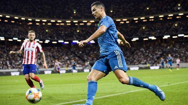 Juve: Ronaldo salta amichevole Villar
