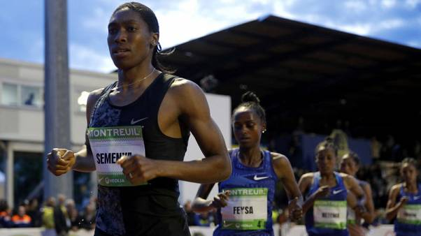 Semenya says she never felt supported by other women