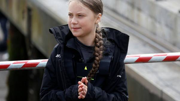 Teenage activist Greta takes climate campaign to the high seas