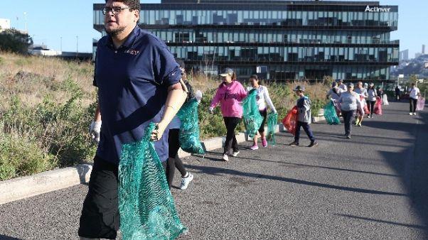 Plogging in mare, in Italia moda svedese