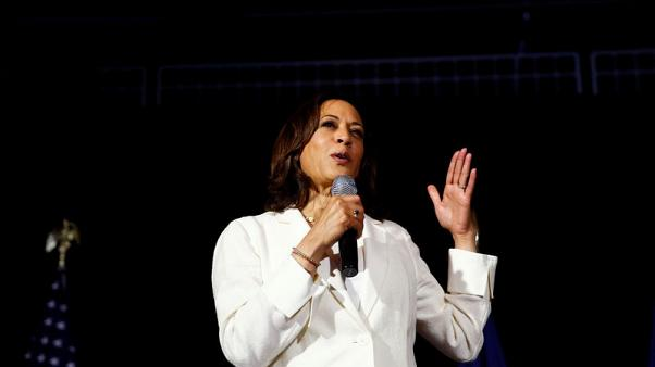 Presidential contender Kamala Harris proposes ways to combat domestic terrorism