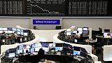 الأسهم الأوروبية تهبط لأدنى مستوى في ستة أشهر مع تزايد مخاوف الركود