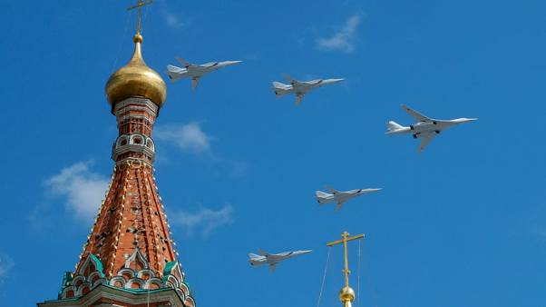 Russia flies nuclear-capable bombers to region facing Alaska