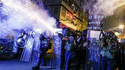 أمريكا تبدي قلقها البالغ لتقارير بتحرك شبه عسكري صيني على حدود هونج كونج