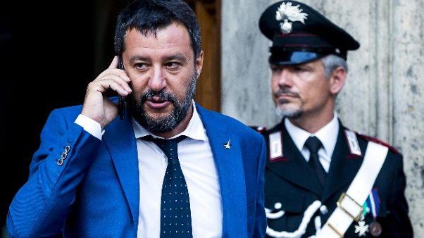 Salvini firma divieto per Open Arms
