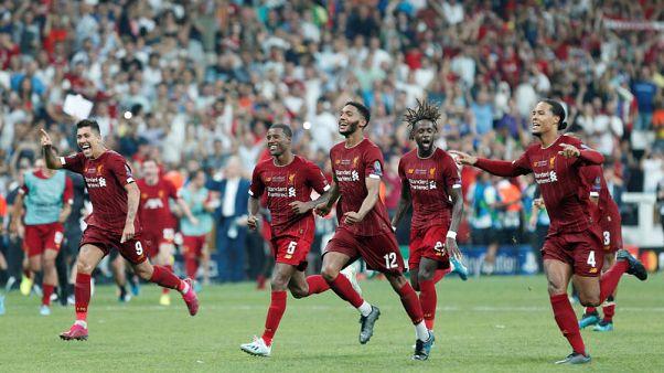 ليفربول يتوج بكأس السوبر الأوروبية بعد ركلات الترجيح