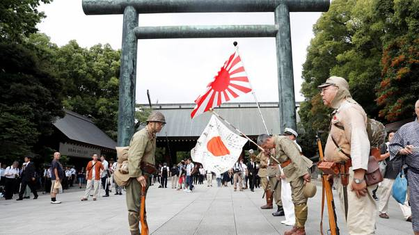 Japan PM Abe sends offering to Yasukuni shrine for war dead - Kyodo