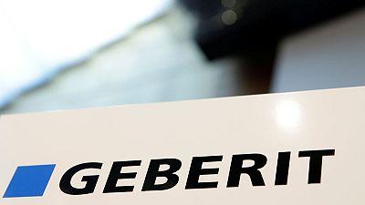 Geberit says construction market still tough as second-quarter sales fall