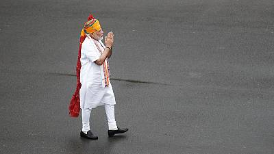 India's Modi trumpets Kashmir, Muslim marriage moves in Independence Day speech