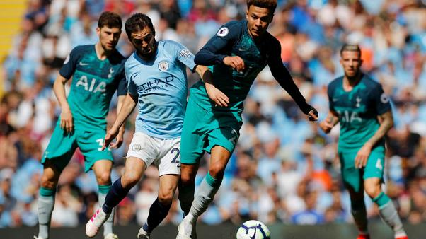 Man City look to banish memories of Euro exit by Spurs