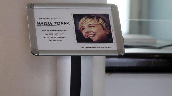 In tanti per salutare Nadia Toffa
