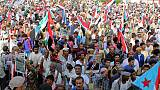 Tens of thousands rally in Yemen's Aden to support separatist takeover