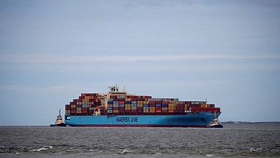 Maersk second-quarter beats expectations, warns trade war may hurt container business