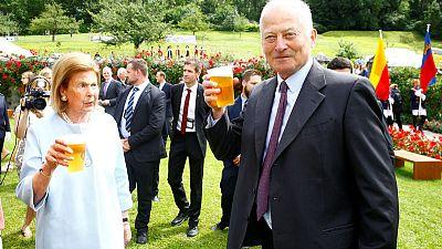 Beer with the prince - Liechtenstein marks 300th anniversary