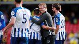 Brighton can improve despite 3-0 win in league opener, says Potter