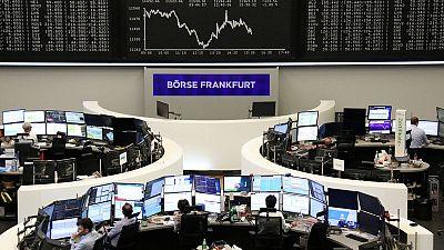 مخاوف التجارة تعصف بالأسهم الأوروبية وأداء ضعيف للمؤشر فايننشال تايمز في لندن
