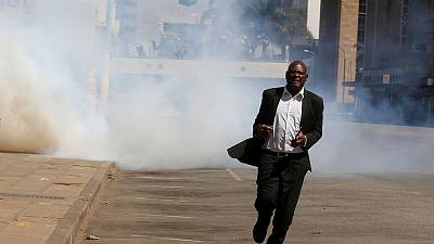 Zimbabwe police fire tear gas, beat up MDC supporters defying protest ban
