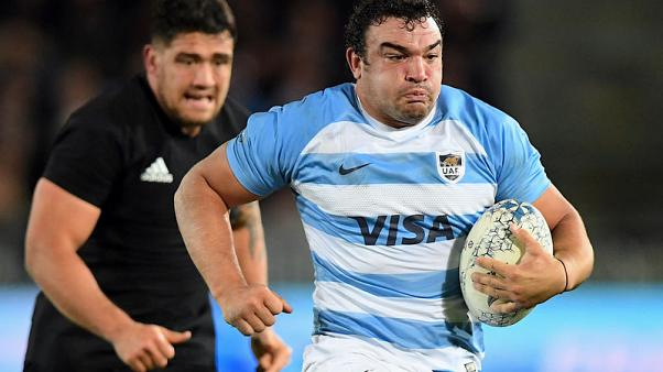 Argentina lose experienced hooker Creevy for Boks test