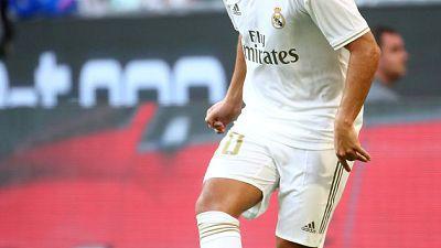 استبعاد هازارد من مباراة ريال مدريد الافتتاحية للموسم للإصابة