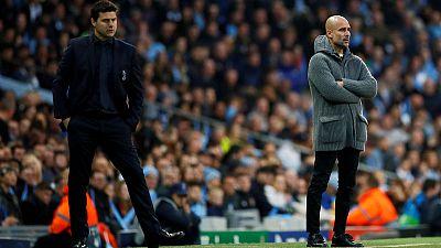Guardiola sees 'second best' Tottenham as title contenders