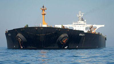 Iranian tanker moving, but still anchored in Gibraltar - witness