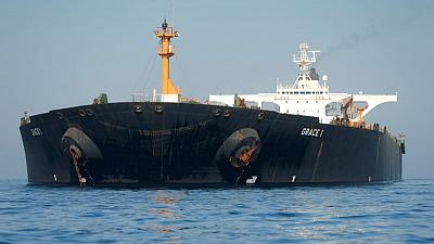 Grace 1 tanker starts to move - Reuters reporter