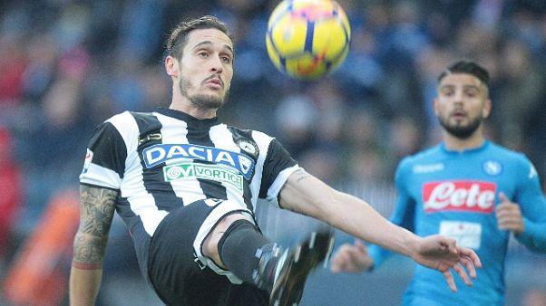 Udinese: Angella ceduto al Perugia