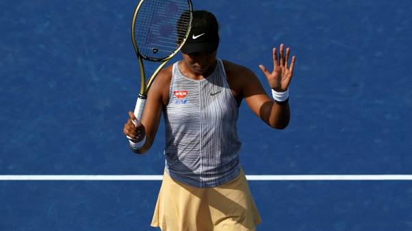 Knee injury puts Osaka's U.S. Open title defence in doubt