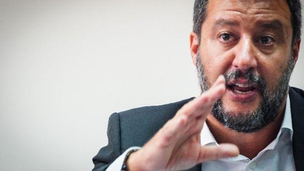 Salvini, Lega ha votato taglio eletti