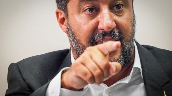 Salvini, Renzi faccia di bronzo