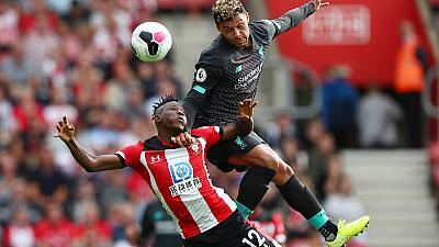 Mane and Firmino give Liverpool 2-1 win at Southampton