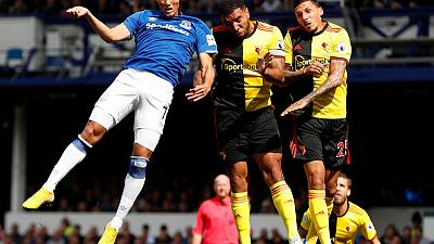 Early Bernard goal earns nervy Everton win over Watford