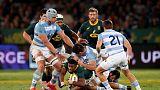 Dazzling Nkosi seals victory for lacklustre Boks over Argentina