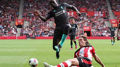 Mane on target in nervy Liverpool win, Arsenal battle past Burnley