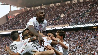 Corinthians beat Botafogo to climb into fifth in Brazilian Serie A