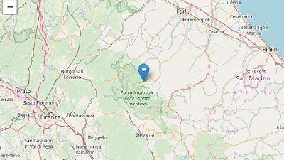 Sisma magnitudo 3.6 in provincia Forlì