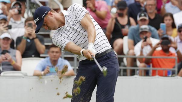 Thomas shoots course-record 61 for six-shot lead at BMW