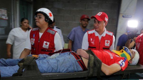 Calcio: tre morti e feriti a Tegucigalpa