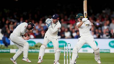 Lord's test drawn as sub Labuschagne helps thwart England