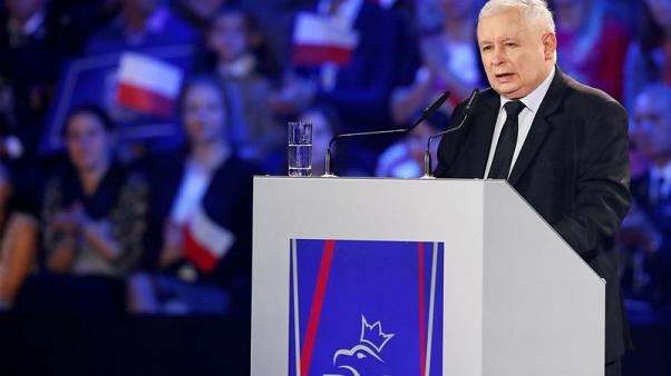 Poland's Kaczynski condemns gay pride marches as election nears
