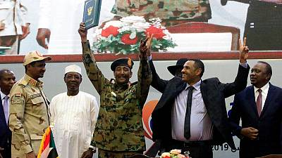 Sudan opposition coalition appoints five civilian members of sovereign council
