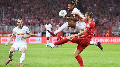Leipzig crush Union 4-0 to spoil newcomers' Bundesliga debut