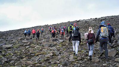 Iceland unveils memorial plaque for lost glacier